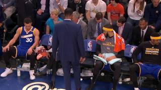 Steve Kerr with Words of Encouragement for Stephen Curry | 03.05.17