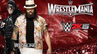 WWE Wrestlemania 31: Undertaker vs Bray Wyatt WWE2K15 (PS4)