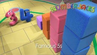 NUMBERJACKS | Famous 5s | S1E31