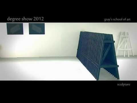 Sculpture - Degree Show 2012