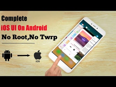 Get Complete IPhone System On Android - No Root,No Twrp | 2019 Unbelievable App