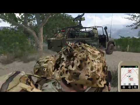40 Commando Royal Marines - Operation Broadsword IV