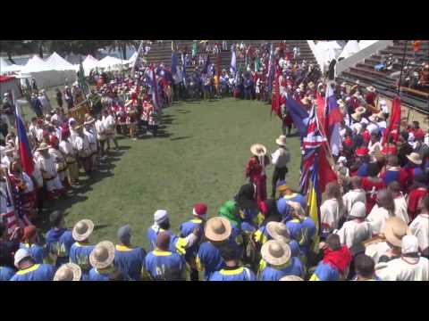 """Open Ceremony. Day 1. Part 1. """"Battle of the Nations"""" - 2014. Croatia, Trogir"""
