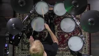 """V-Drums Lesson 63: Gregg Bissonette """"Four on the Floor and Beat Displacement"""""""