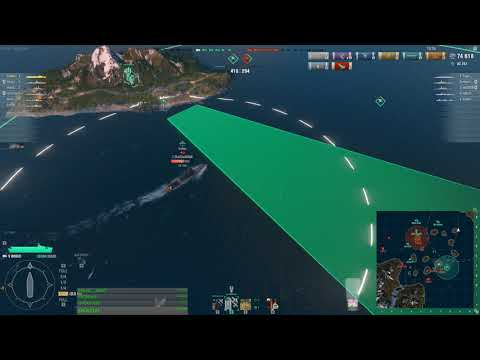 World Of Warships - Manual Auto-dropping