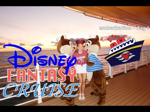 day in my life: DISNEY FANTASY CRUISE | embarkation day!