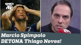 """""""Thiago Neves é VAGABUNDO!"""" Repórter DÁ NO MEIO do camisa 10 do Cruzeiro!"""
