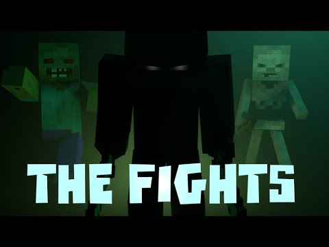 "♫ ""The Fights"" - Minecraft Parody of Avicii - The Nights"