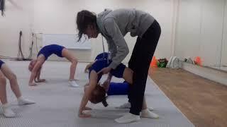 Детская гимнастика дома . Урок №3