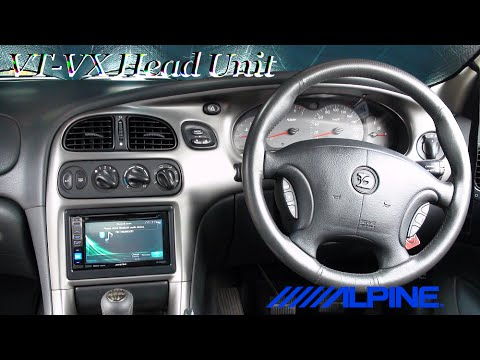 Vy Vz Stereo Wiring Diagram 2005 Honda Civic Car Radio How To: Holden Vt-vx Commodre (hsv) Install Head Unit (full Install) - Youtube