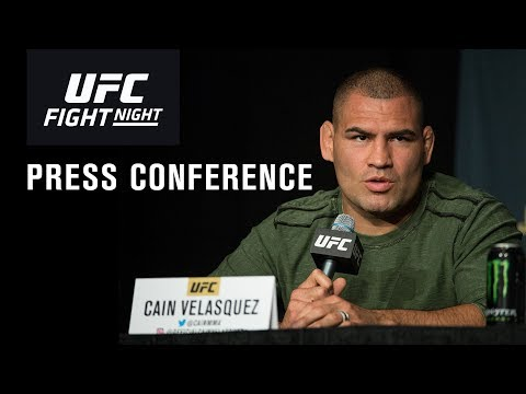 UFC Phoenix: Post-fight Press Conference