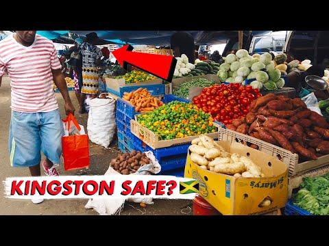 Download 🇯🇲 Is Downtown Kingston Safe for Tourists? | Walkabout Vlog Coronation Market, Parade, Orange St Mp4 baru