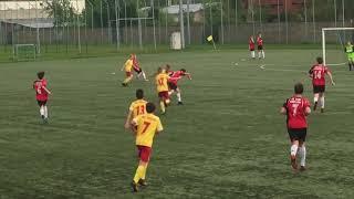 SEMP Ursynów - Znicz Pruszków  1:1,  rocznik 2005, liga, 29.04.2018