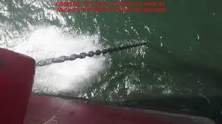 Heaving up Anchor