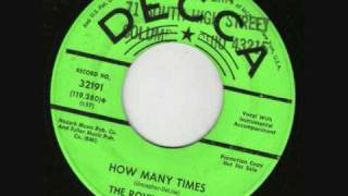 The Rovin'  Flames - How Many Times (1967)