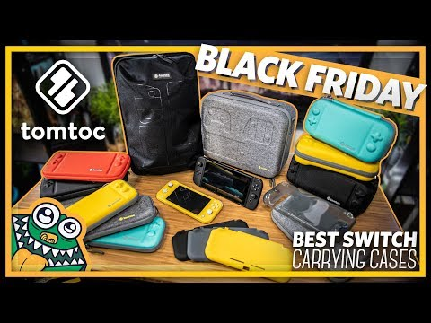 Tomtoc Black Friday Switch Lite Cases + Nintendo Switch Lite GIVEAWAY! - List and Overview