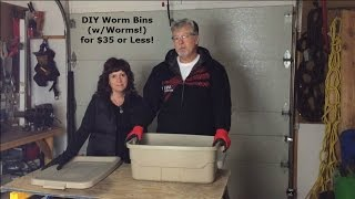Diy Worm Bins For $35 Or Less | Love Your Land