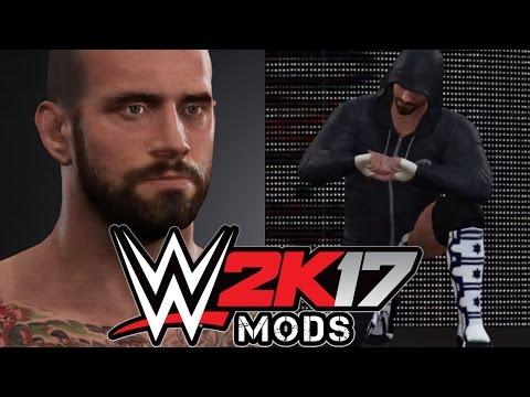WWE 2K17 PC MOD - CM Punk w/ Entrance, Music, Moveset, Titantron & More