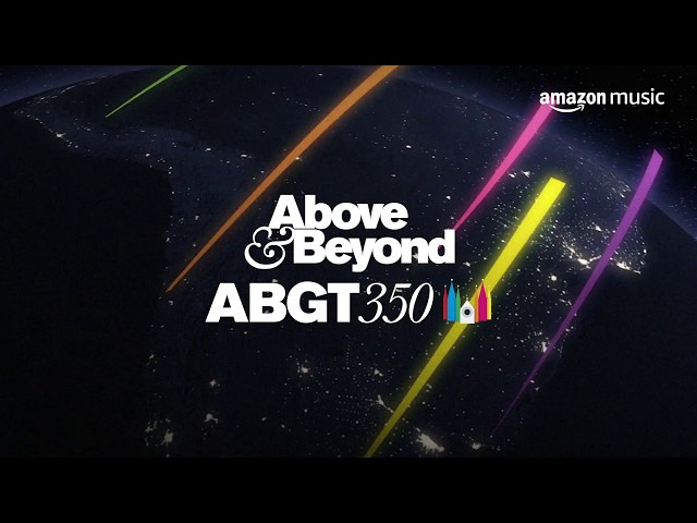 ABGT350 Prague - Live on Twitch.tv - Presented by Amazon Music