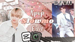 ✧˚꒰ kpop smooth slowmo + flash glow edit tutorial ˚ˑ༄ · screenshot 2