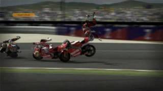 MotoGP 08 - Crashes