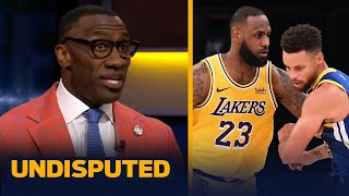 Steph Curry's Warriors are a dangerous matchup for LeBron & Lakers - Shannon | NBA | UNDISPUTED