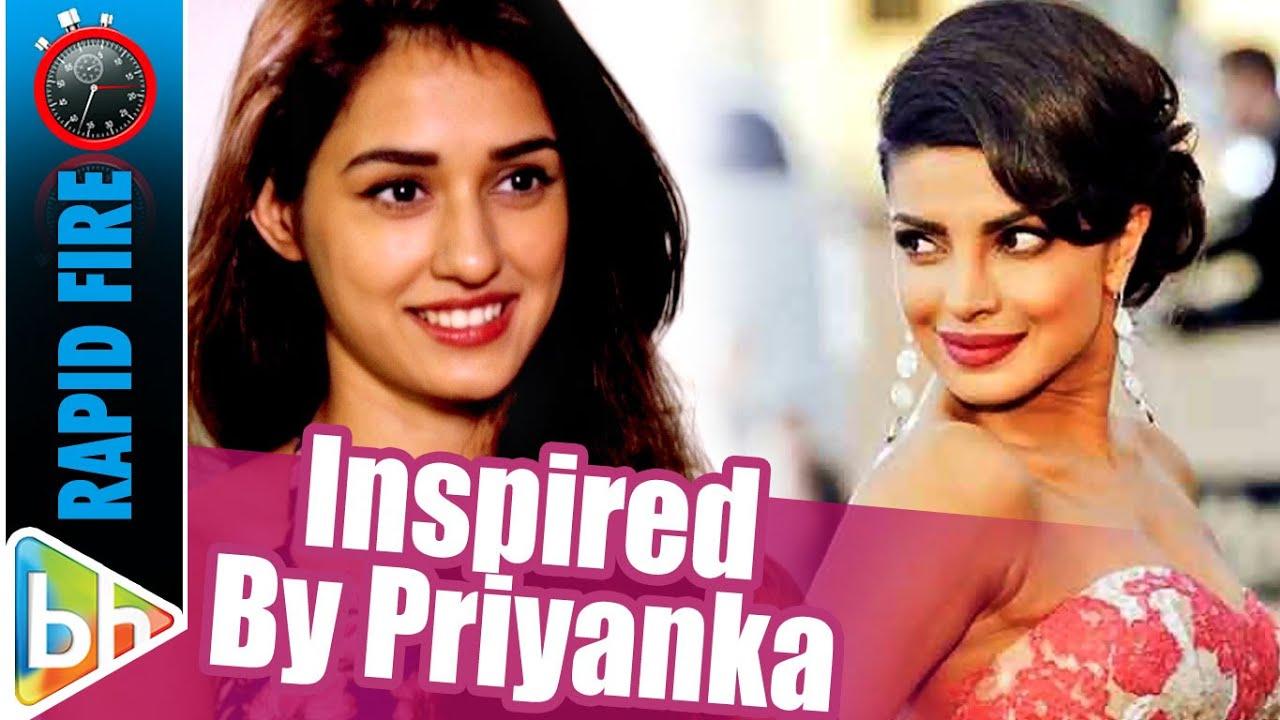 Disha Patani  Fun Rapid Fire On  Ms Dhoni  Priyanka