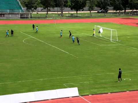 ฟุตบอล7สี คัดเลือกรอบ3 โรงเรียนมัธยมวัดหนองจอก พบ นาดีวิทยา part 1