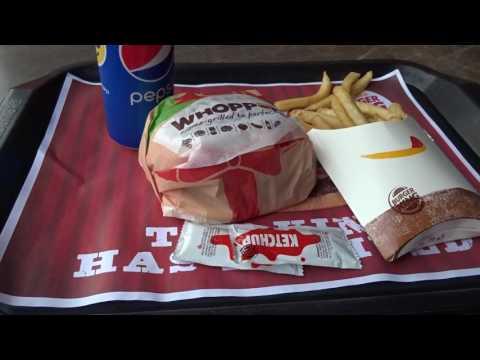 アキーラさん利用②東ティモール・ディリ市のバーガーキング!Burger king in Dili city in East Timor