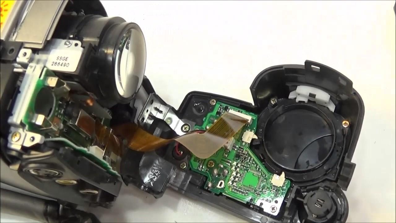Sony Handycam DCR-SR68 Troubleshooting