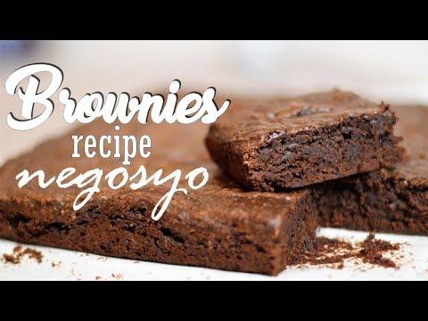 BROWNIES - Recipe Negosyo | It's More Fun in the Kitchen