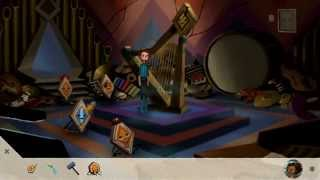 Broken Age Act 2 Shay Vella Final Ending Puzzle (Hexipal & Hexigal Wires) Walkthrough (Double Fine)