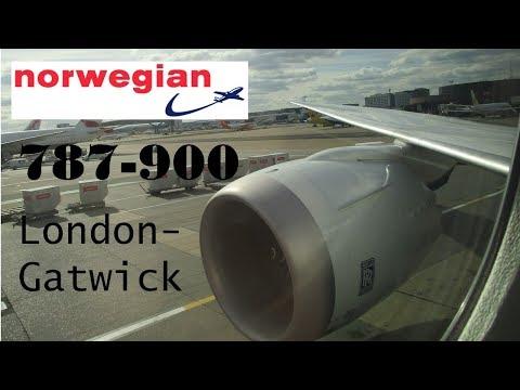 FULL FLIGHT | Norwegian Boeing 787-900 Dreamliner | London-Gatwick to New York-JFK