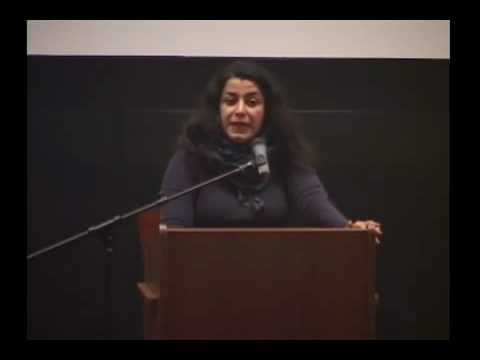 Marjane Satrapi talking about comics
