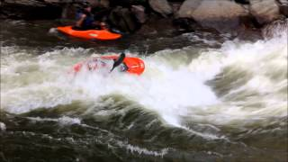 Ocoee River, Tennessee - White water rafting.