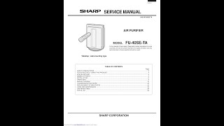 Sharp Air Purifier Service Man…