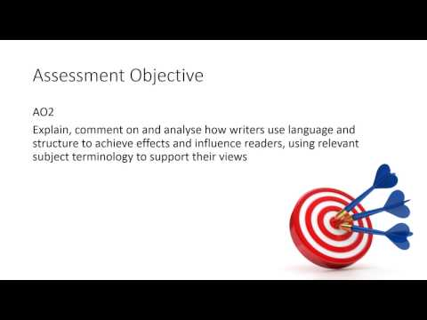 AQA English Language Paper 1 Section A - Question 3 revision