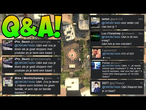 ''QUESTION AND ANSWER!'' w/ OMGitsTiesto! (Dutch)