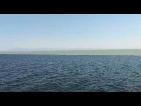 have a look at the border of pacific and atlantic ocean they don t
