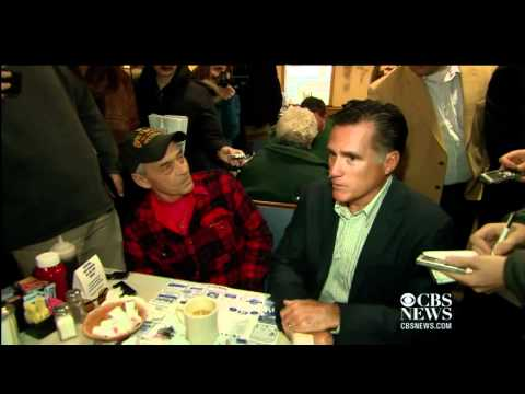 Gay voter grills Romney on marriage rights