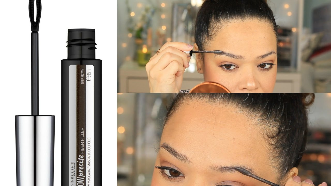 f44c79a3ded NEW   Maybelline Brow Precise Fiber Filler   Demo & Review - YouTube