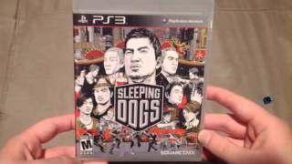 Sleeping Dogs Unboxing (PS3) Release Day!