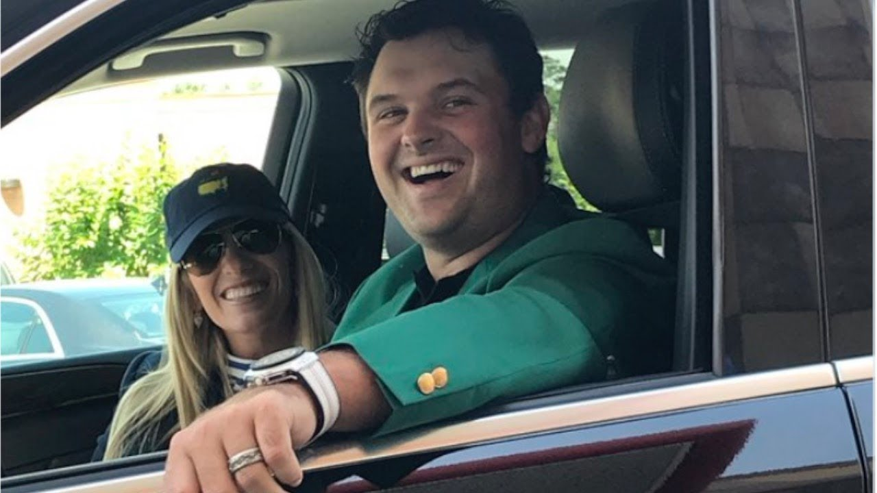 Patrick Reed in his car