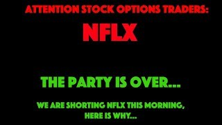 nflx earnings, trading nflx options, shorting nflx shares,