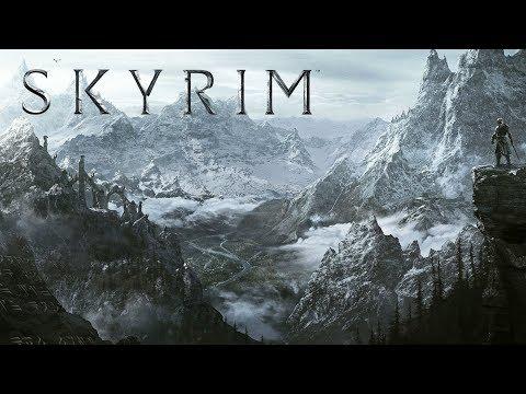 The Elder Scrolls V  Skyrim Special Edition (тест текстур и освещения)