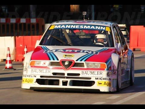 Alfa 155 V6 TI DTM ex Larini - Davide Cironi Drive Experience