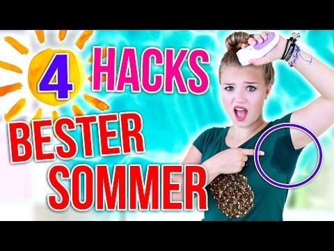 SOMMER HACKS, TIPPS UND TRICKS! | Julia Beautx