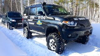 OFF Road 4x4 Adventure – UAZ Patriot, Toyota Sequoia — RC Extreme Pictures(More interesting videos http://www.youtube.com/user/wilimovich Click to Subscribe! ▻http://goo.gl/F70PoV - In this part of RC Extreme Pictures you will see a ..., 2017-03-11T14:14:03.000Z)