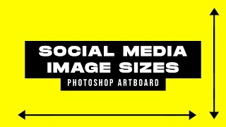 Free Social Media Image Sizes Guide Template Download