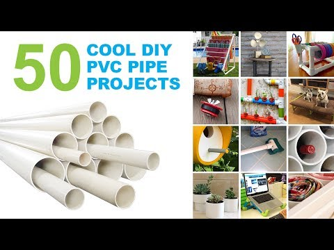 50 Cool DIY Projects and Ideas Using PVC Pipes